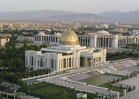 Palais présidentiel à Achgabat